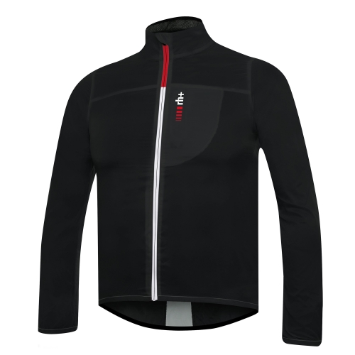 ZERO WIND SHELL Jacket black-white